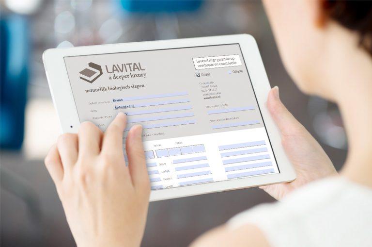lavital digitale orderbon