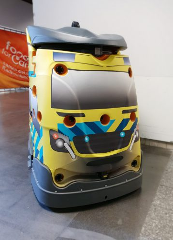 Ambulance stofzuiger in Radboud UMC